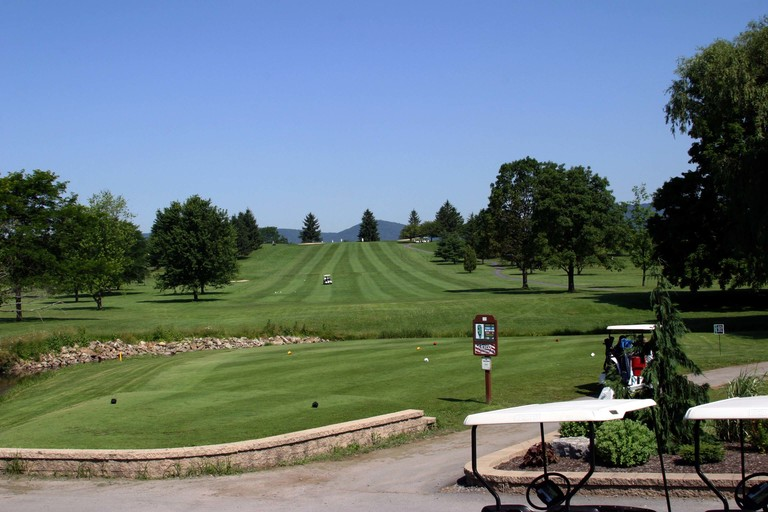 View of Lost Creek Golf Course in Oakland Mills, Pennsylvania